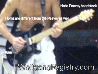 New Wolfgang Prototype played by EVH